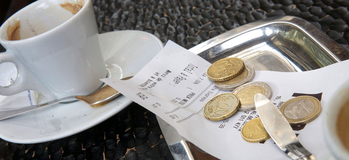 Tipping in Bulgaria - restaurant and taxi