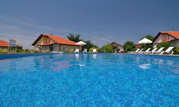 Sunny Hills Villas - complex of 16 villas with shared swimming pool
