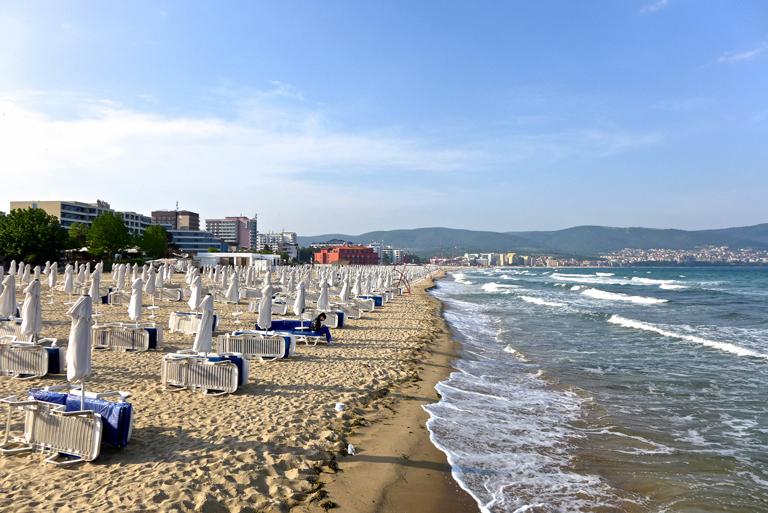 Central Beach, Sunny beach