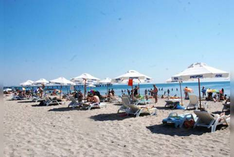 The Central Beach of Bourgas