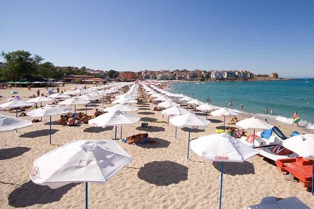 The beaches of Sozopol