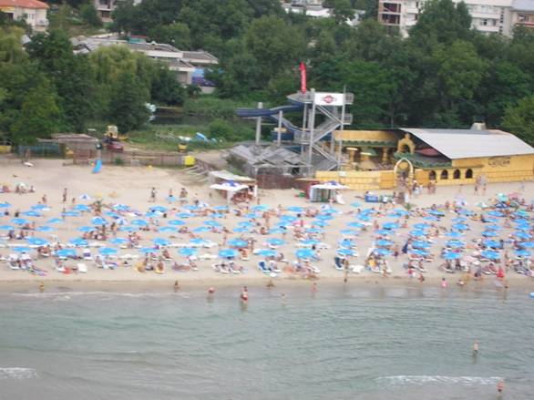 The South Beach of Primorsko