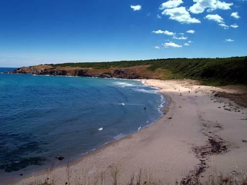 Beach Lipite near Sinemorets