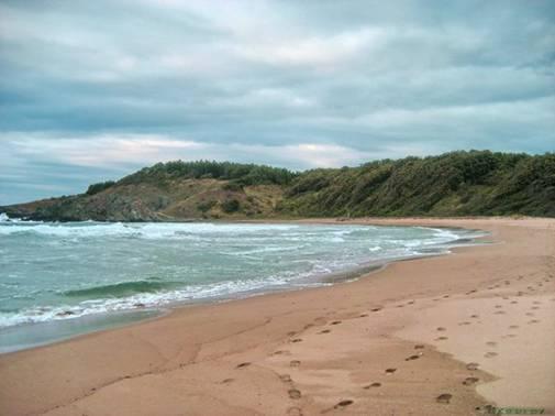 Beach Silistar near Sinemorets