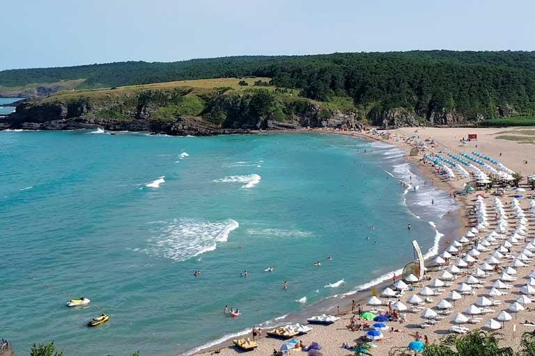 Butamyata beach Bulgaria