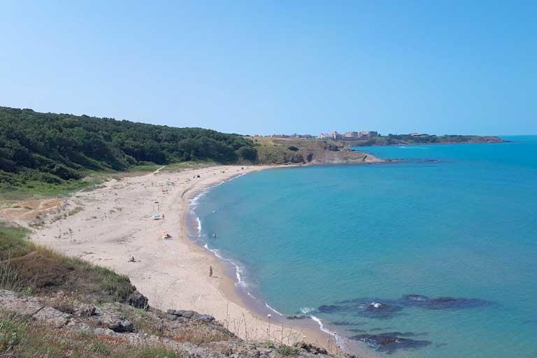 Lipite beach Bulgaria