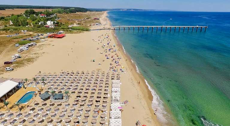 Shkorpilovtsi beach Bulgaria