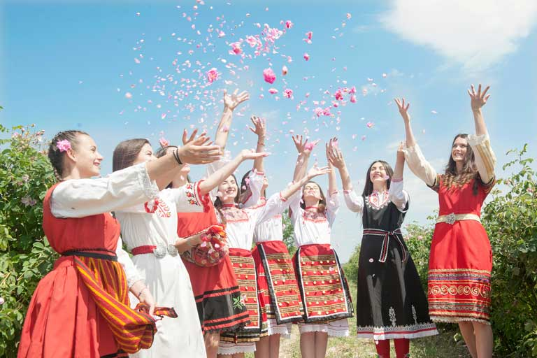 The Rose festival in Bulgaria