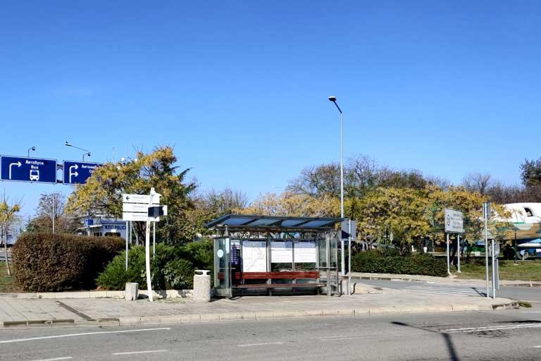 Burgas airport bus station