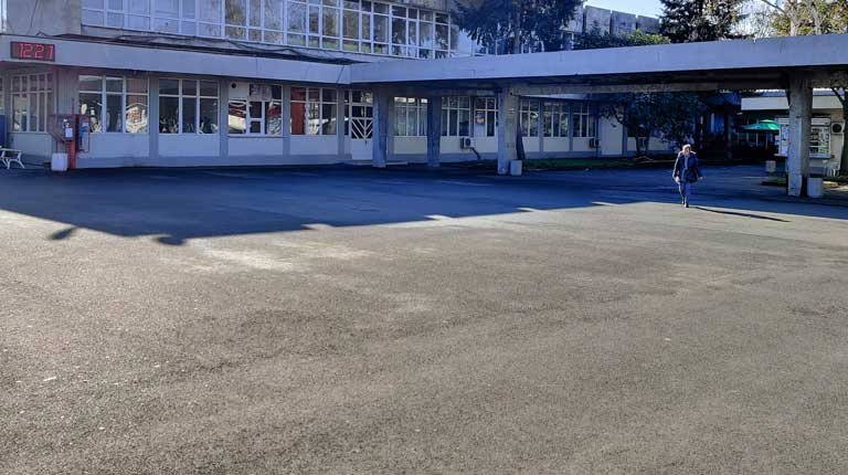 Burgas bus station West