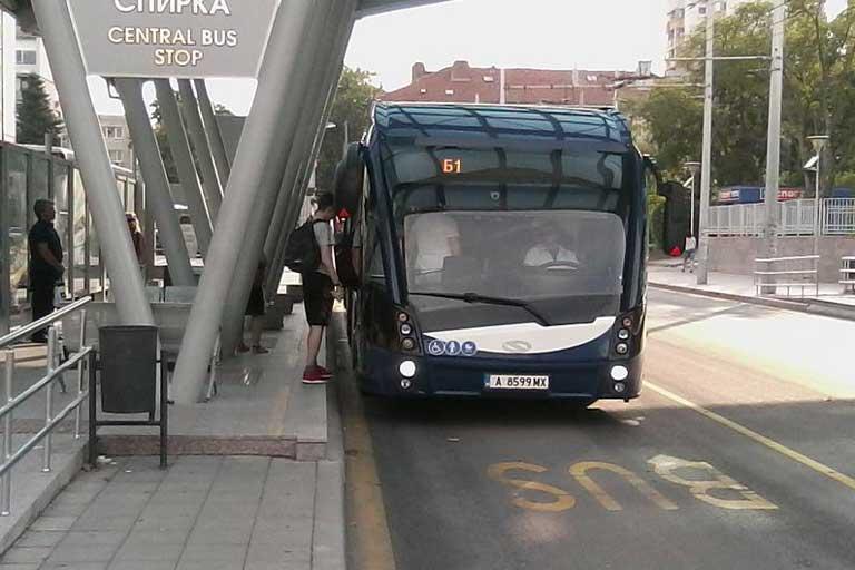 Public transport in Burgas, Bulgaria