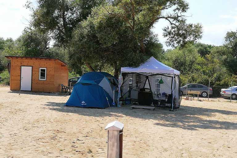 Camping site in Bulgaria