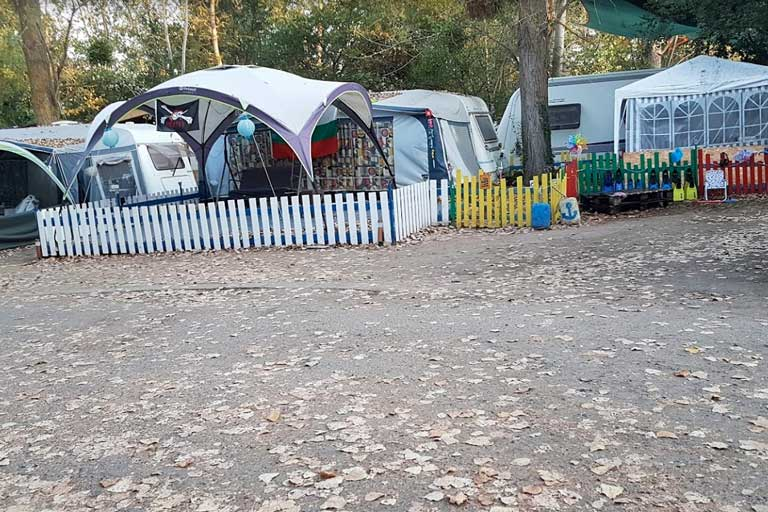 Camping site Kavatsi in Bulgaria
