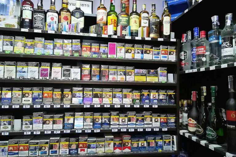 Cigarette prices in Bulgaria