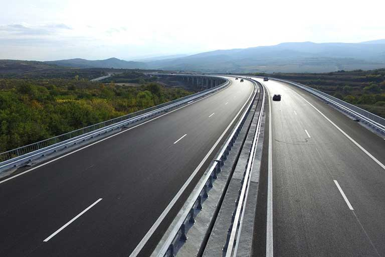 Struma highway, Bulgaria