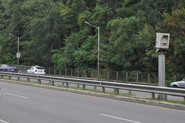 Speed cameras in Bulgaria