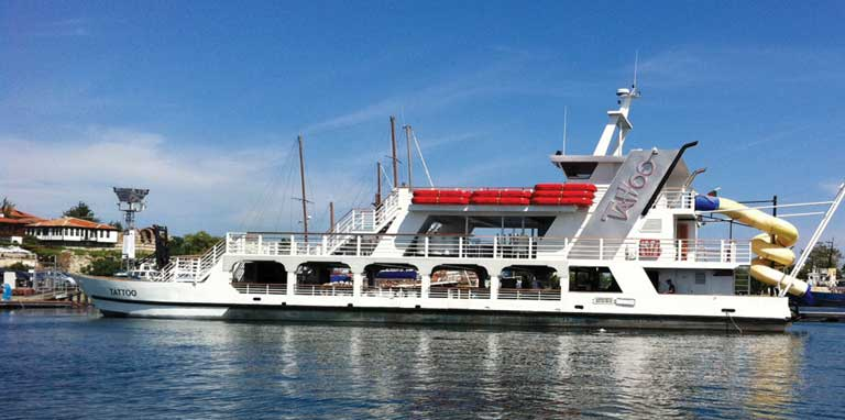 Boat trip from Nessebar