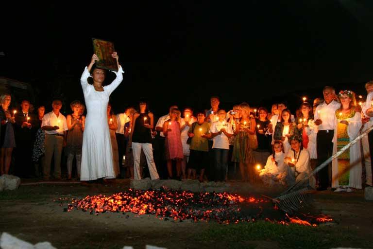 Bulgarian fire dance