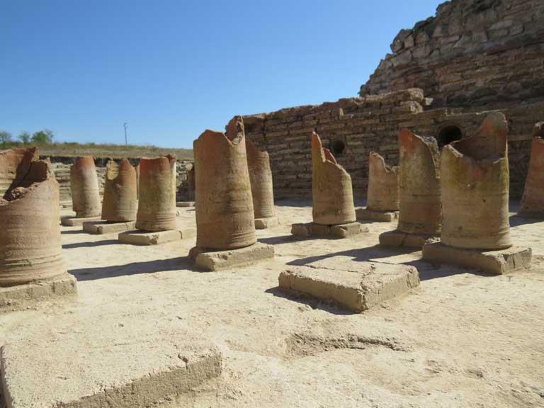 Roman city Deultum near Burgas