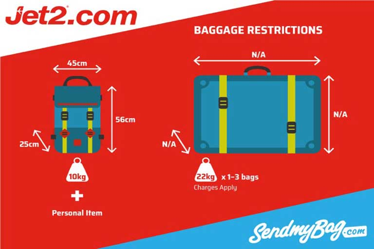 Luggage allowance Jet2.com