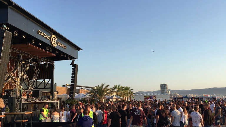Cacao Beach summer events
