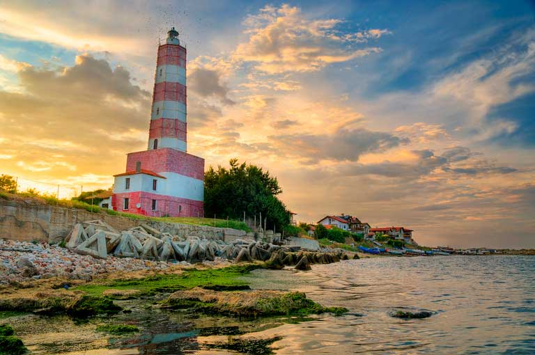 Shabla lighthouse Bulgaria