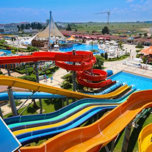 View of water park Nessebar