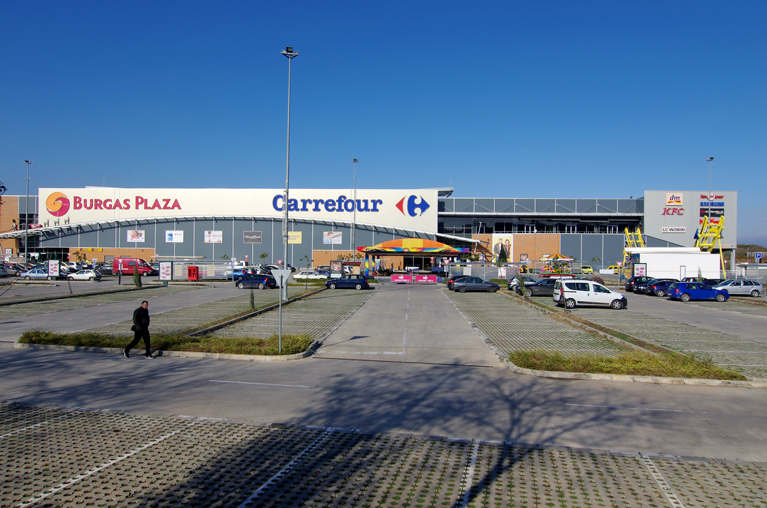 Mall Plaza parking Burgas