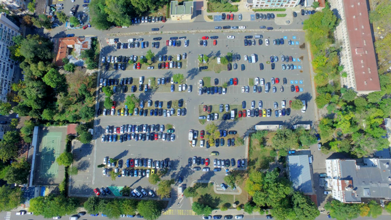 Gurko parking lot Burgas