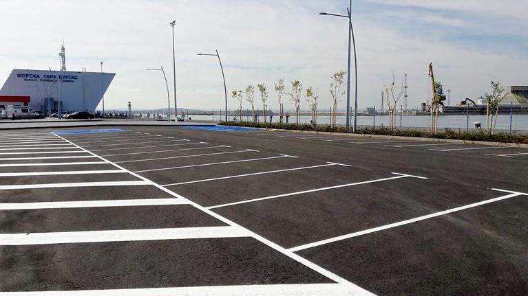 Parking Sea garden, Burgas