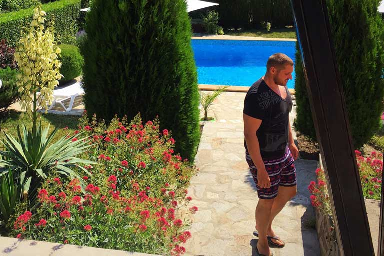 rental villa with pool in Bulgaria