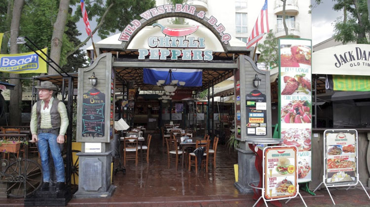 Restaurant Chilli Peppers Sunny Beach