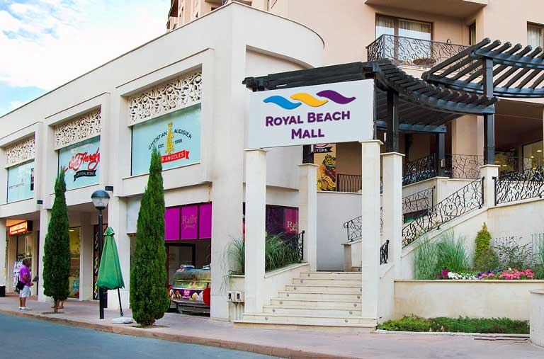 Royal beach mall Sunny beach