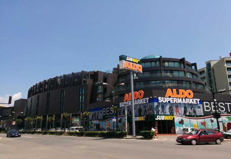 Sunny beach Supermarkets