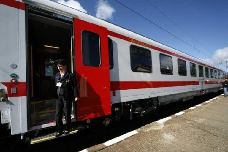 Sofia-Burgas by train