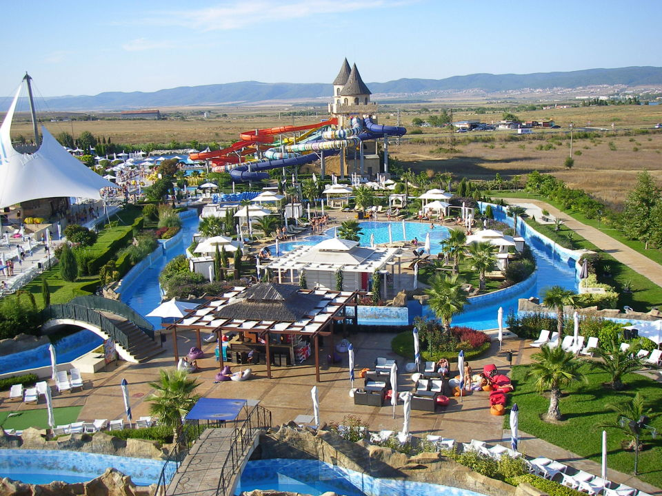 View of Sunset water park