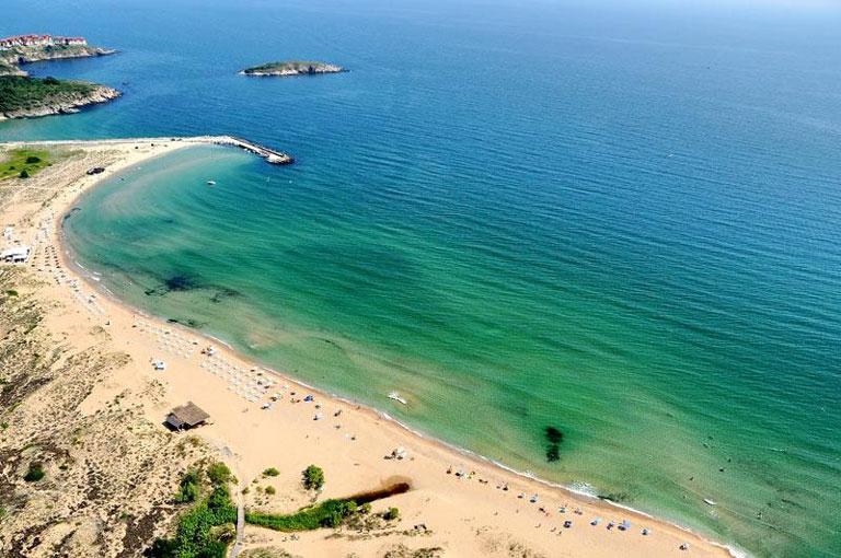 Arkutino beach, Bulgaria