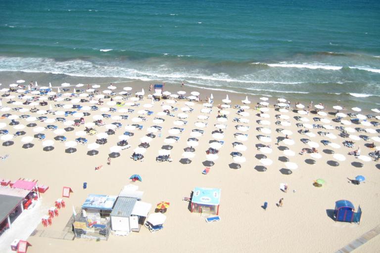 Beach of Burgas, Bulgaria