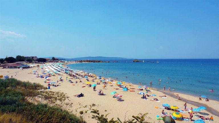 Beach of Lozenets, Bulgaria