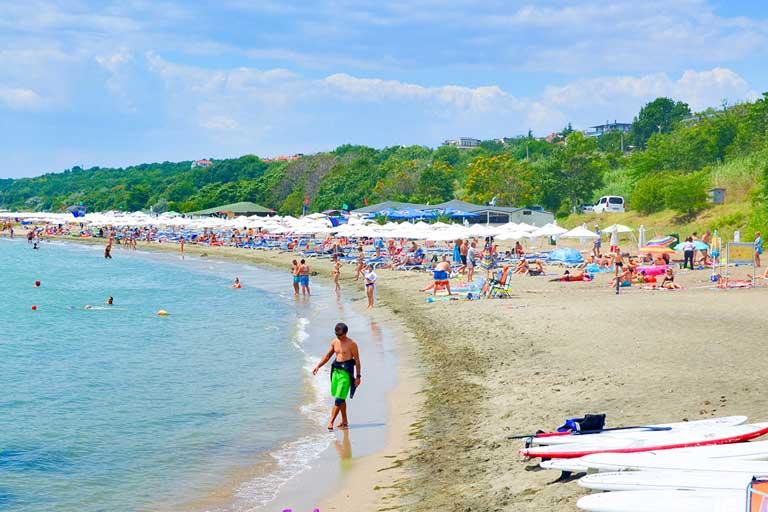 Beach of Sarafovo, Bulgaria
