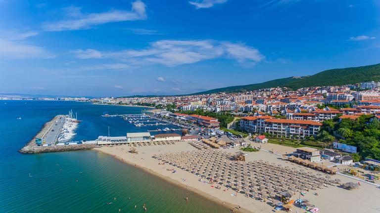 Beach of St. Vlas, Bulgaria