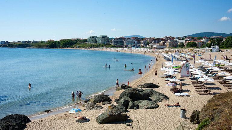 Beach of Tsarevo, Bulgaria