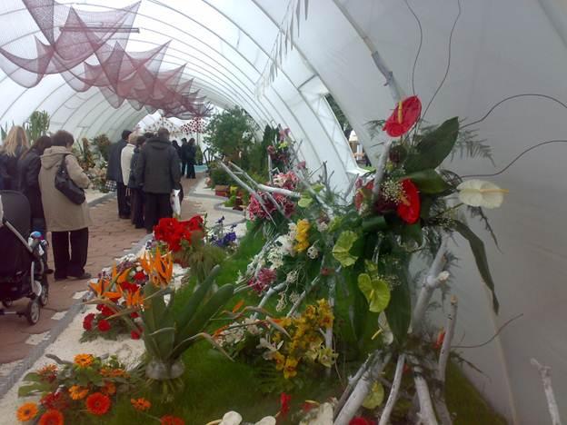 The Flora Exhibition-pavillions