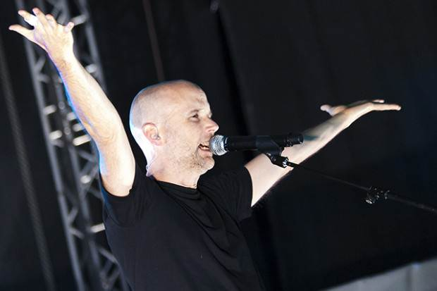 Moby on stage