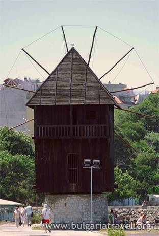 The old wind-mill