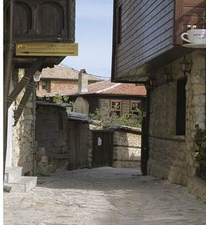 The old houses of Nessebar