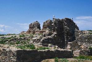The Monastery ruins on the St. Ivan Island
