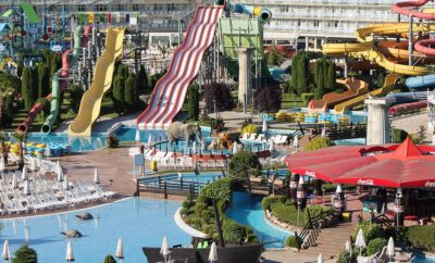 The best Aquapark in Burgas and Sunny beach