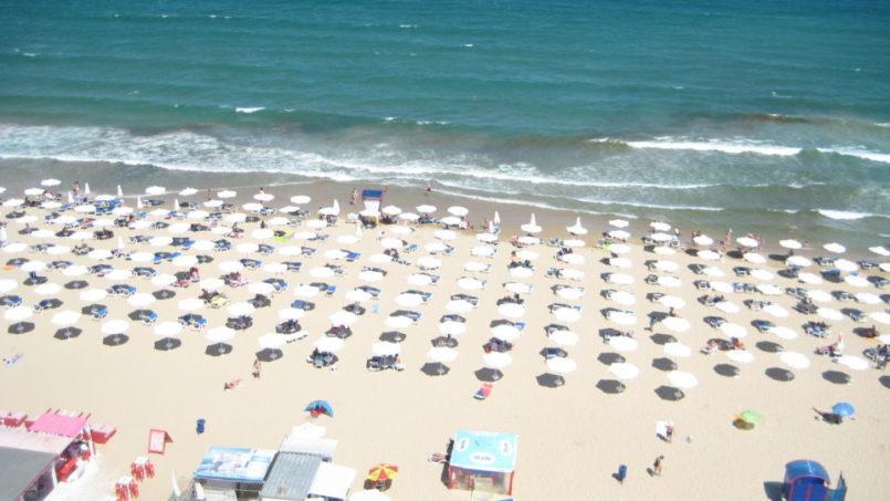 Beach of Burgas