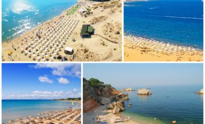 Best beaches in Bulgarian Black sea south coast
